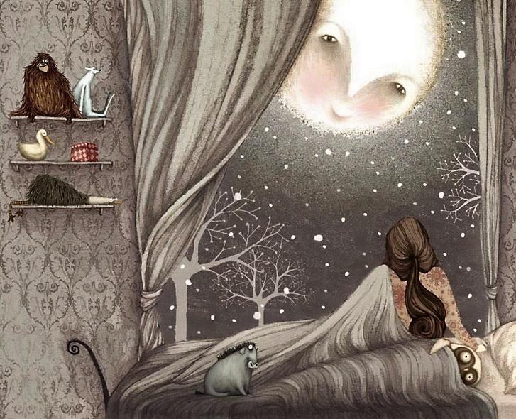 Ночное окно во Вселенную.