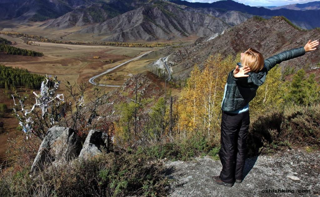 Перевал Чике-Таман. Горный Алтай.