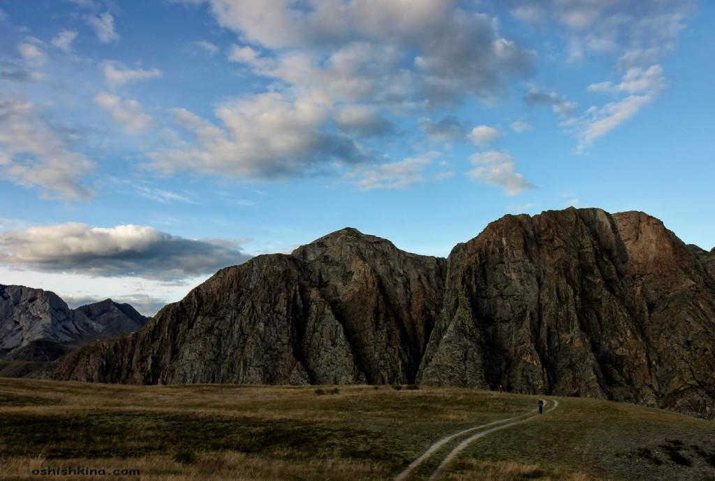 Горный Алтай. долина реки Катунь