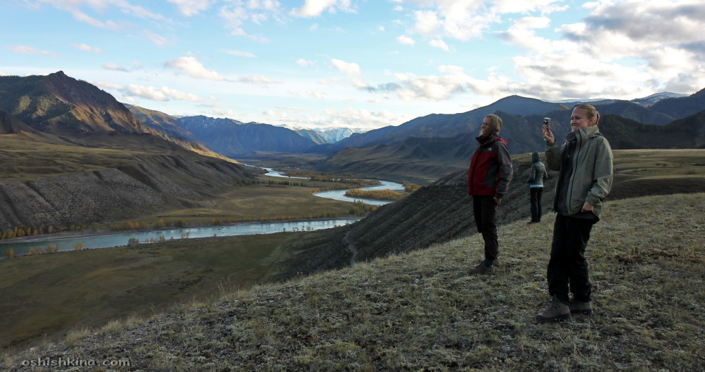 Катунь, дорога на Инегень, республика Алтай