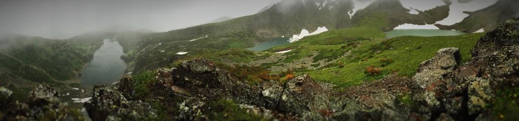 озера горы Красной