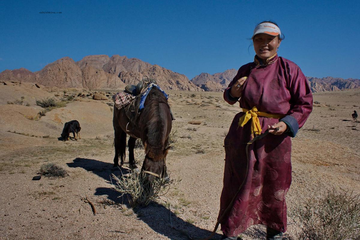 Монголия Озера большой котловины